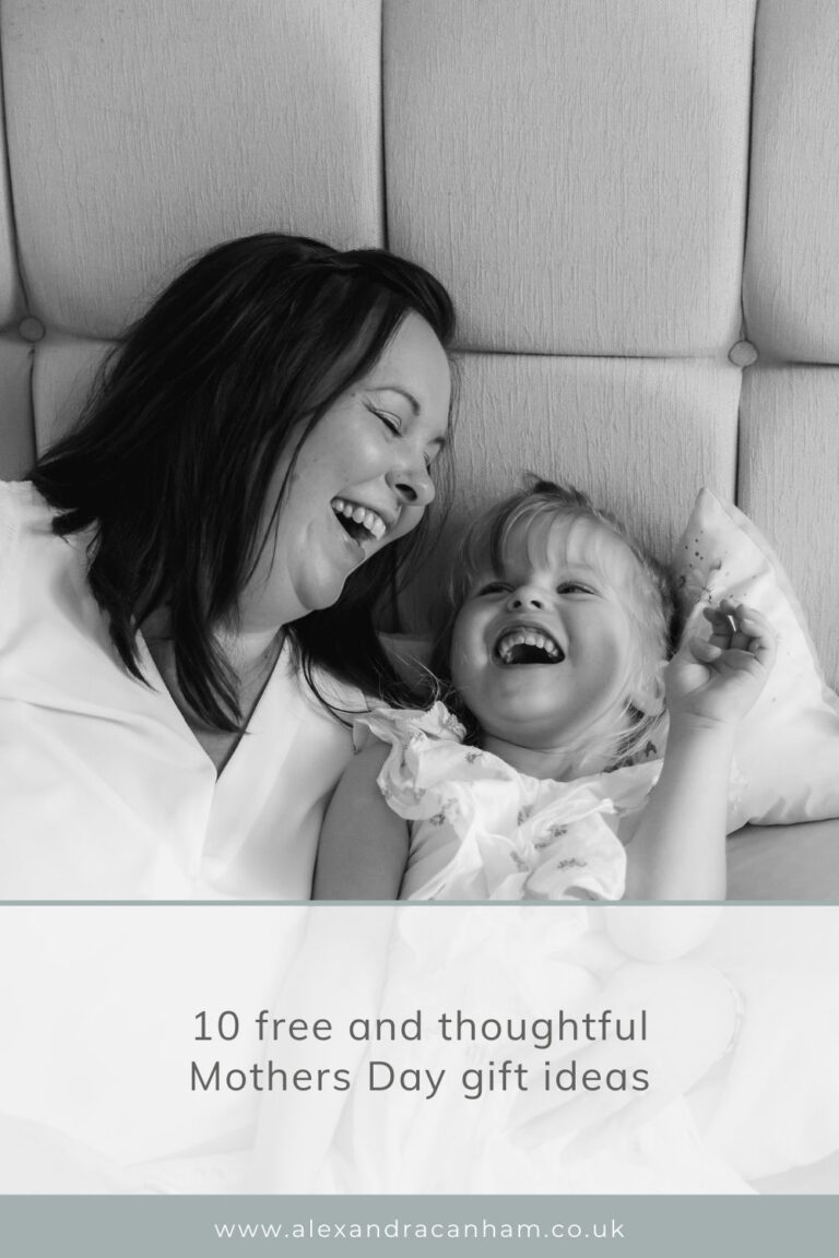 10 free and thoughtful Mothers Day gift ideas