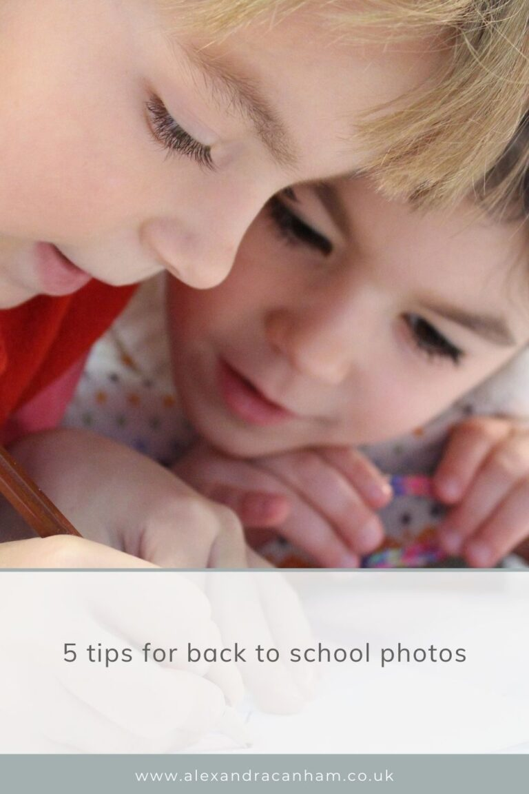 5 tips for great back to school photos