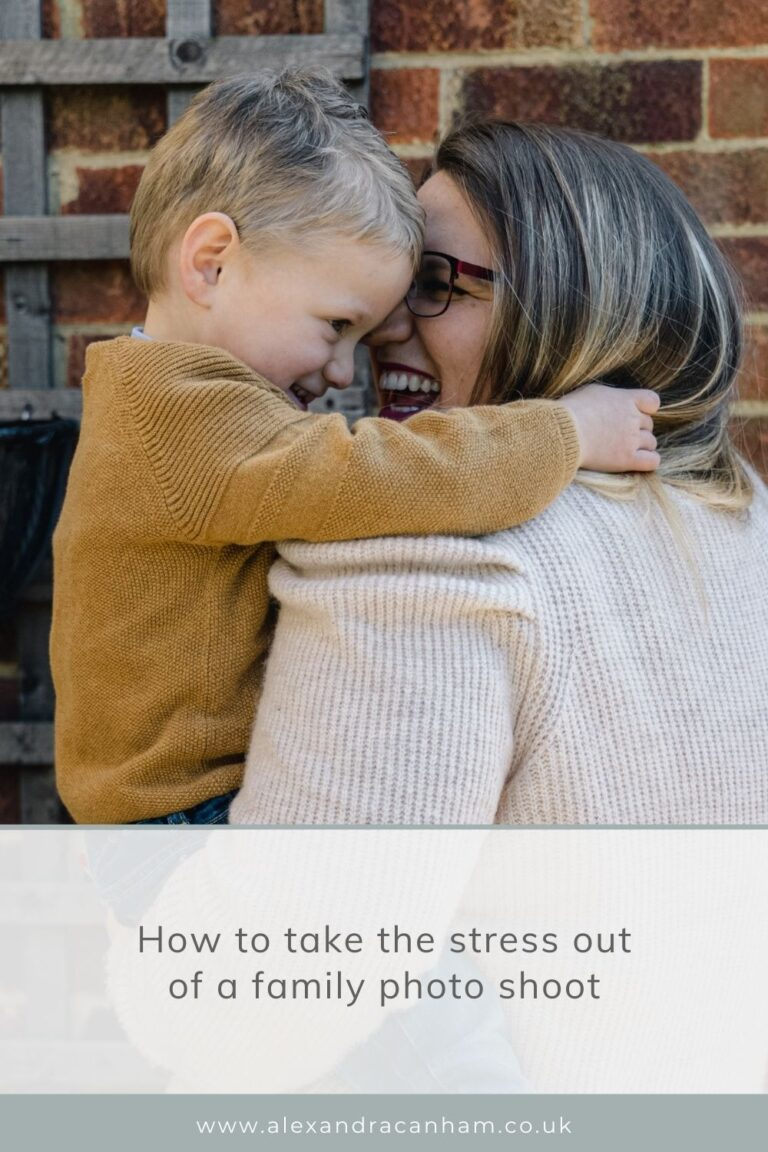 How to take the stress out of a family photo shoot